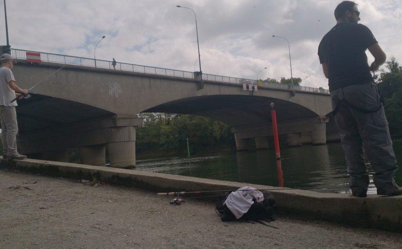 Petite sortie de pêche en Seine